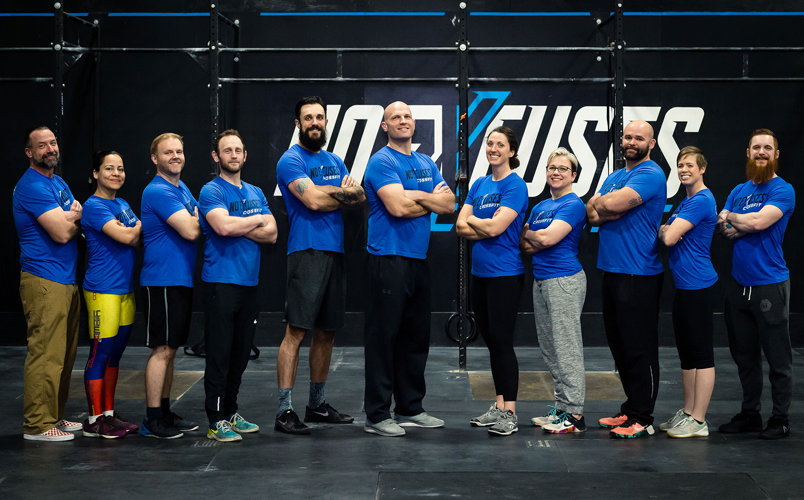 No Excuses CrossFit Coaches and Staff